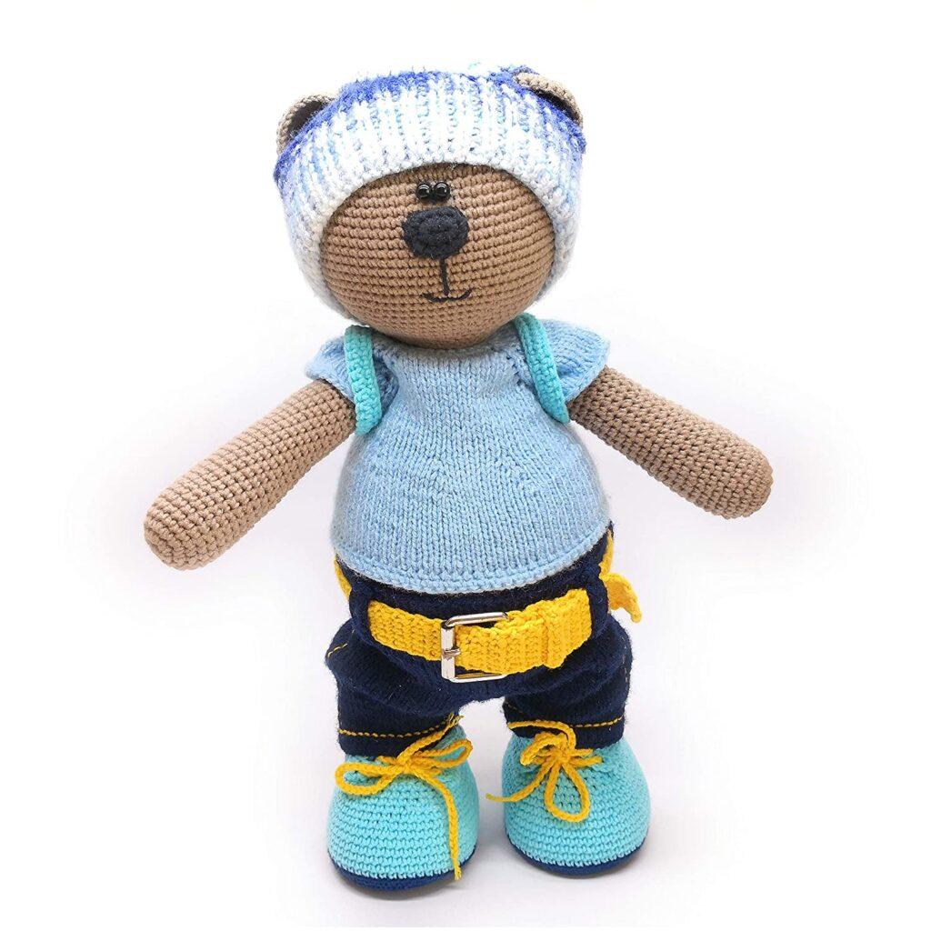 Los osos amigurumis de Crochet